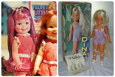 Velvet's Little Sister Cinnamon and Dina by IDEAL