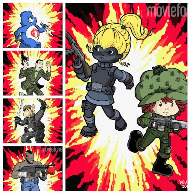 G.I. Joe 80s characters