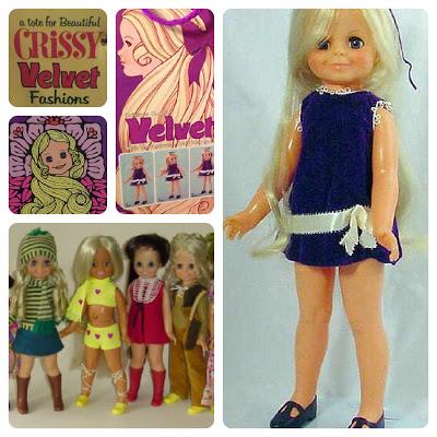 18 Inch Velvet Doll by IDEAL, 1970