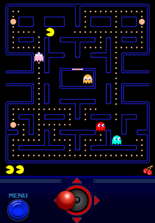 Pac-Man Video Game Screenshot