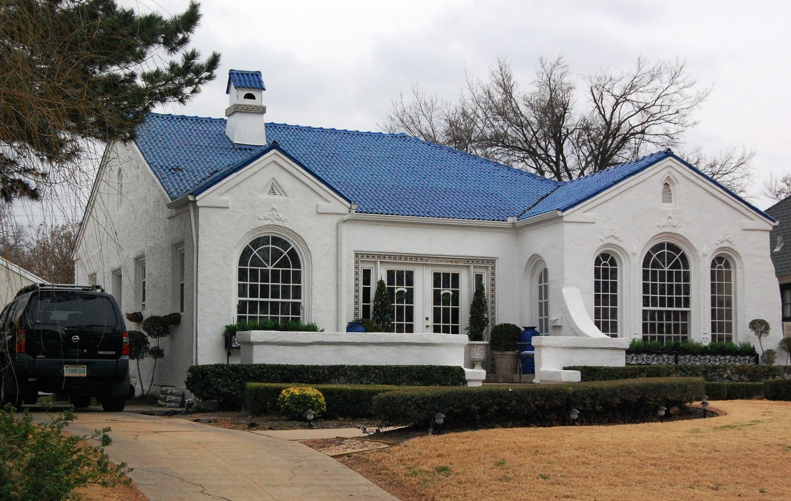 Blue Doors and Roofs: Oklahoma City's Houses of Different ...
