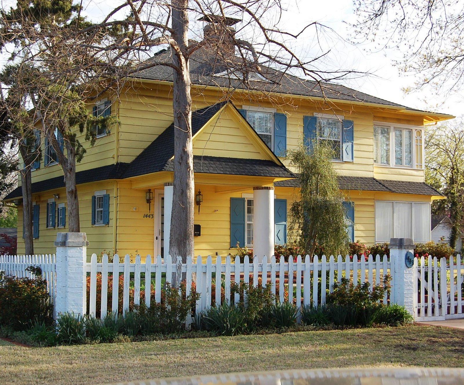 Yellow Houses • Jennifer McCollum
