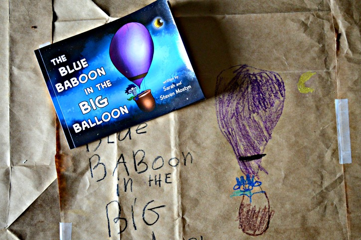 The Blue Baboon in the Big Balloon