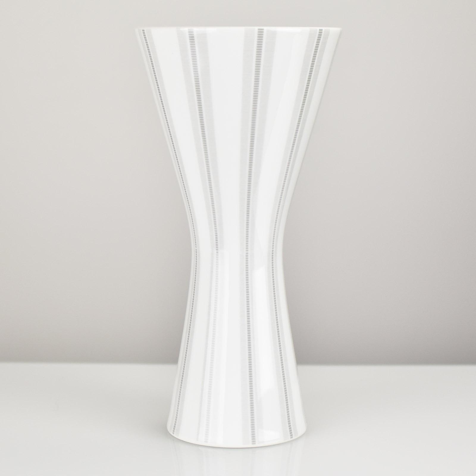 Details About Vtg 1950s German Op Art Porcelain Diabolo Vase By Heinrich Mid Century Modern