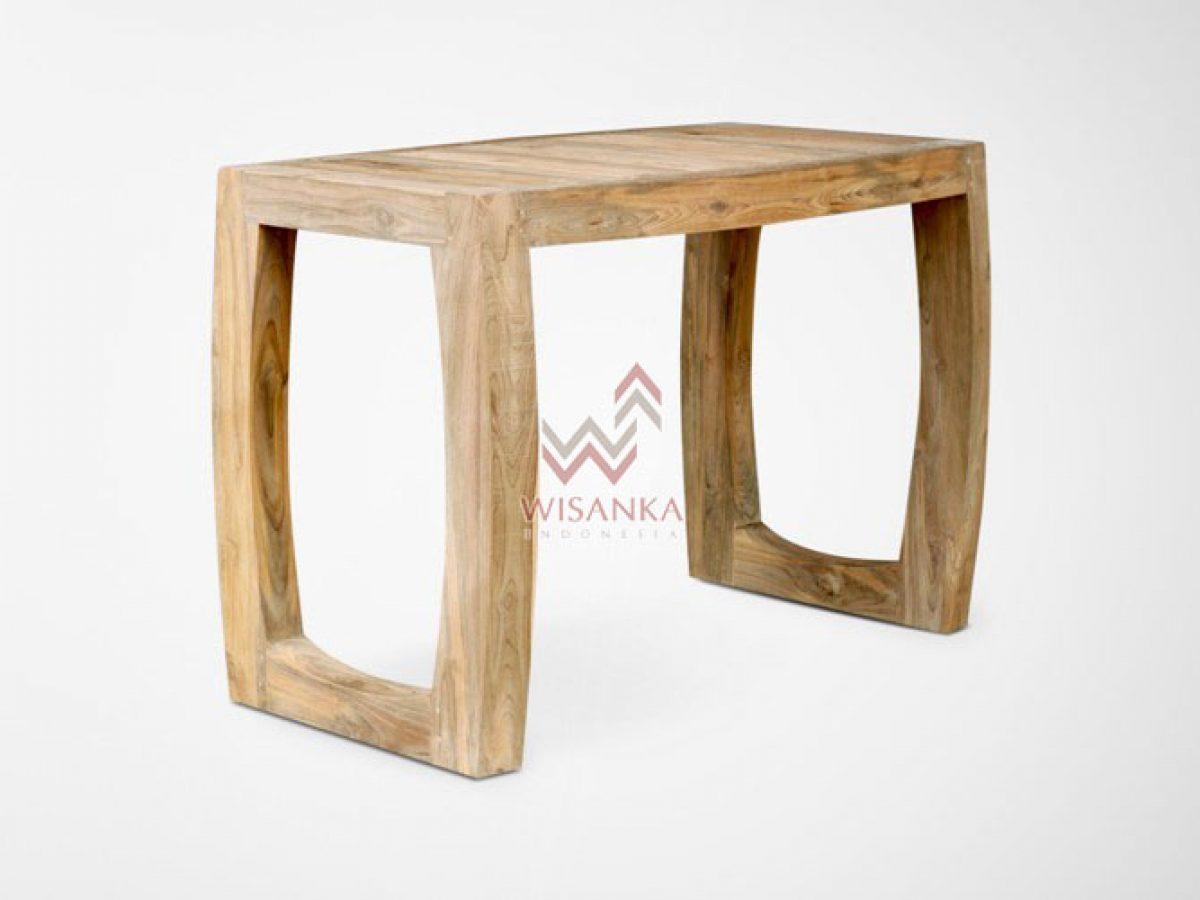 curva rustic coffee table