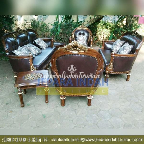 LRF SST 003 Set Kursi Sofa Ruang Tamu Ukir Mewah