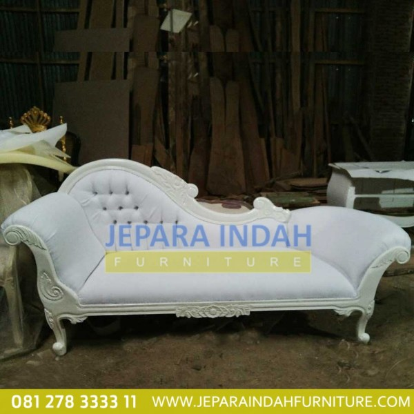 Harga Jual Sofa Single Louis Ivory