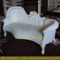 Harga Jual Sofa Living Single End Duco Putih