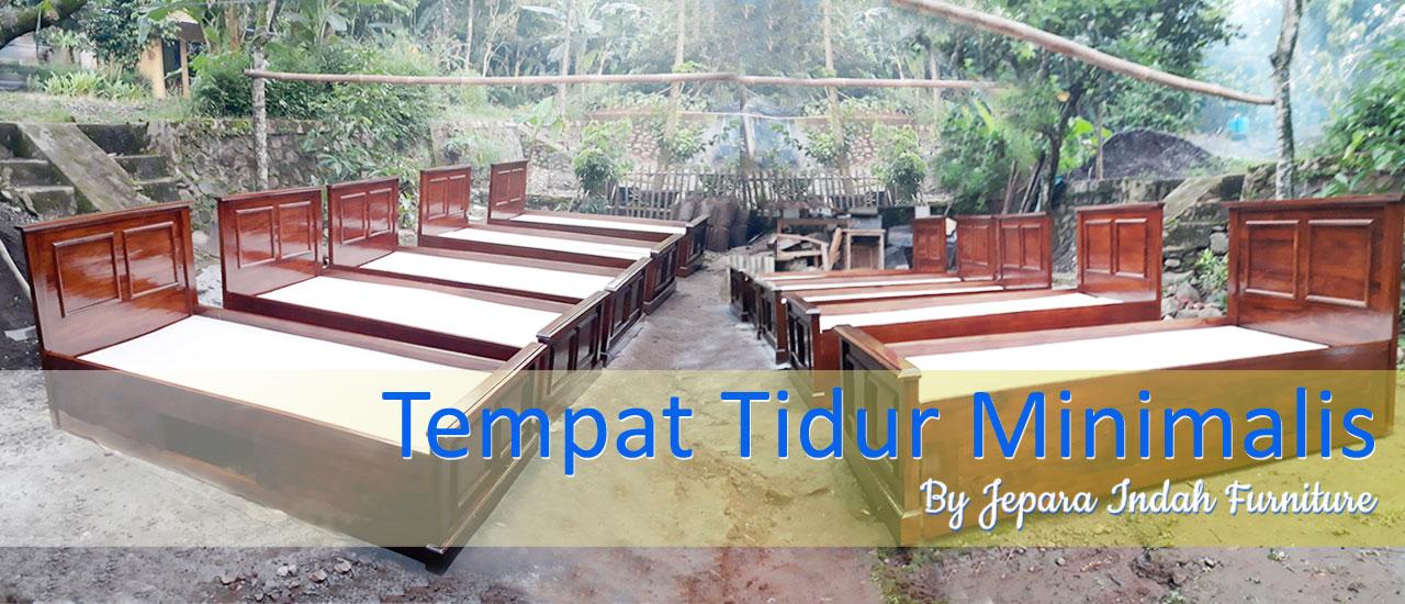 Tempat Tidur Jati Minimalis Untuk Kamar Kos Jakarta By Jepara Indah Furniture