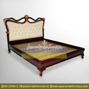 BRF DTT 009 Tempat Tidur French Style Ukiran Jepara