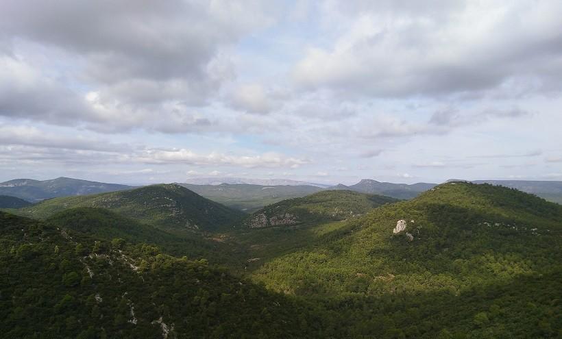 vue de la grotte sainte-baume