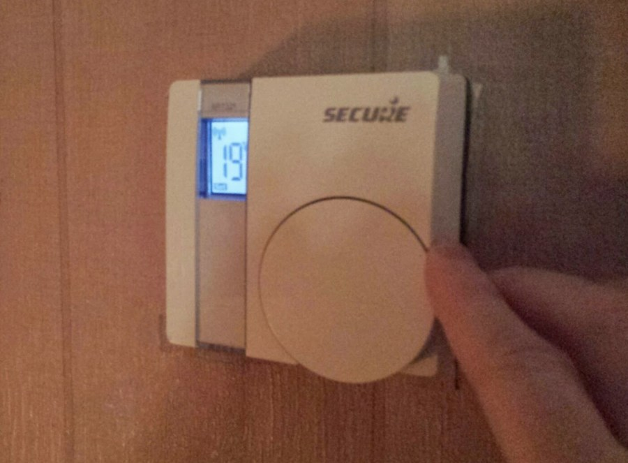 Thermostat SECURE Z-Wave