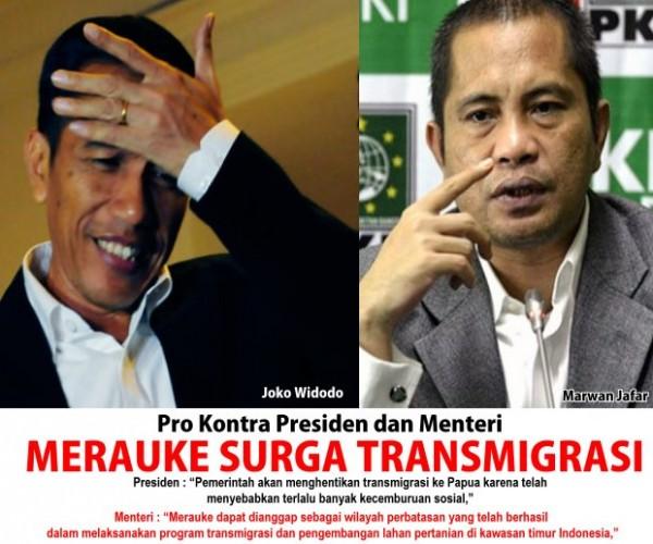Marwan vs Jokowi