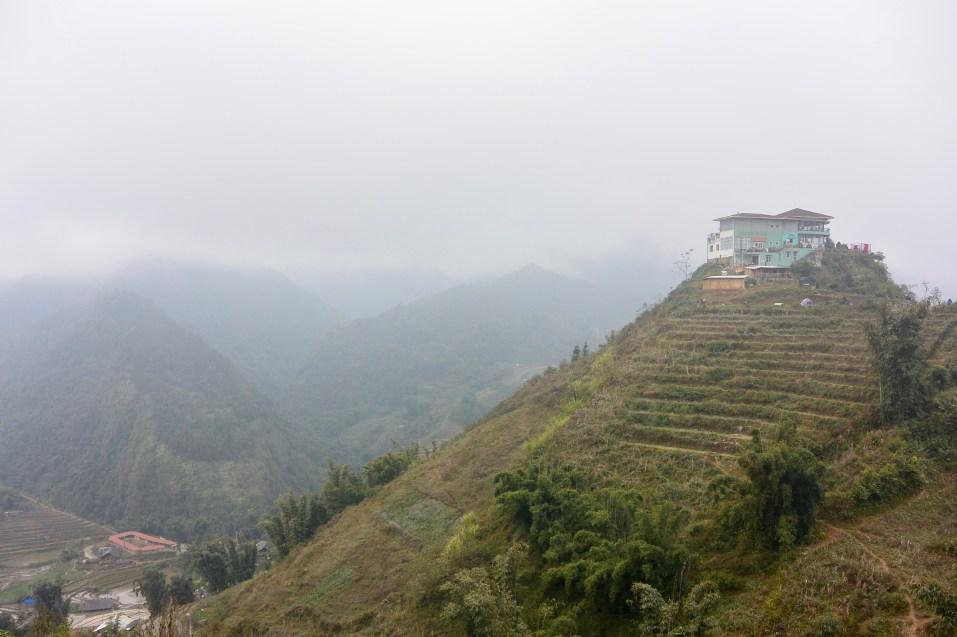 Casa en la montaña en Sapa