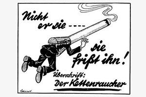 German anti-amoking ad