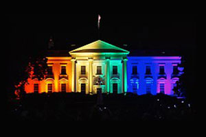 Whitehouse celebrates gay marriage