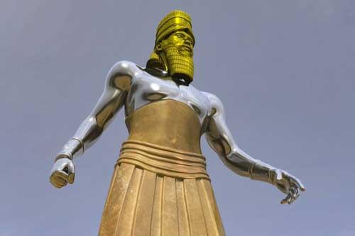 Nebuchadnezzar Statue