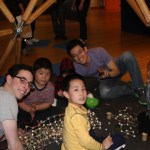 Building Gumdrop Buildings at the Brooklyn Children's Museum