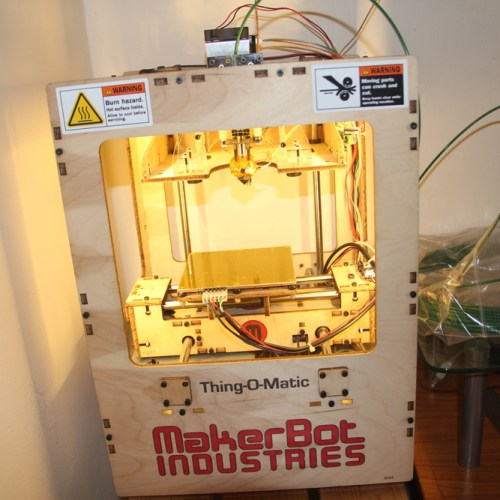 Jeremy's Thing-O-Matic 3D Printer