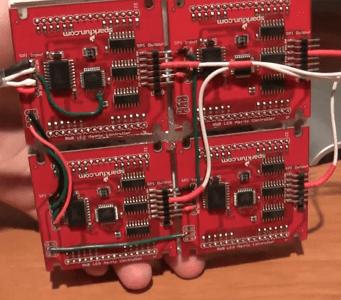 ReacXion LED Matrix Rear