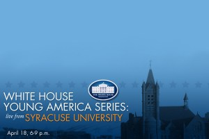 White House Young America Series Banner