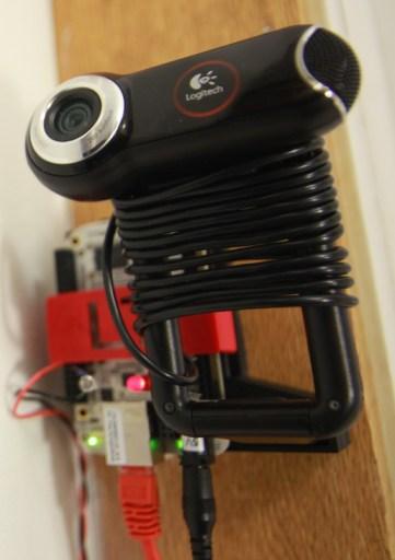 Closeup of the LibeTech Door Lock System