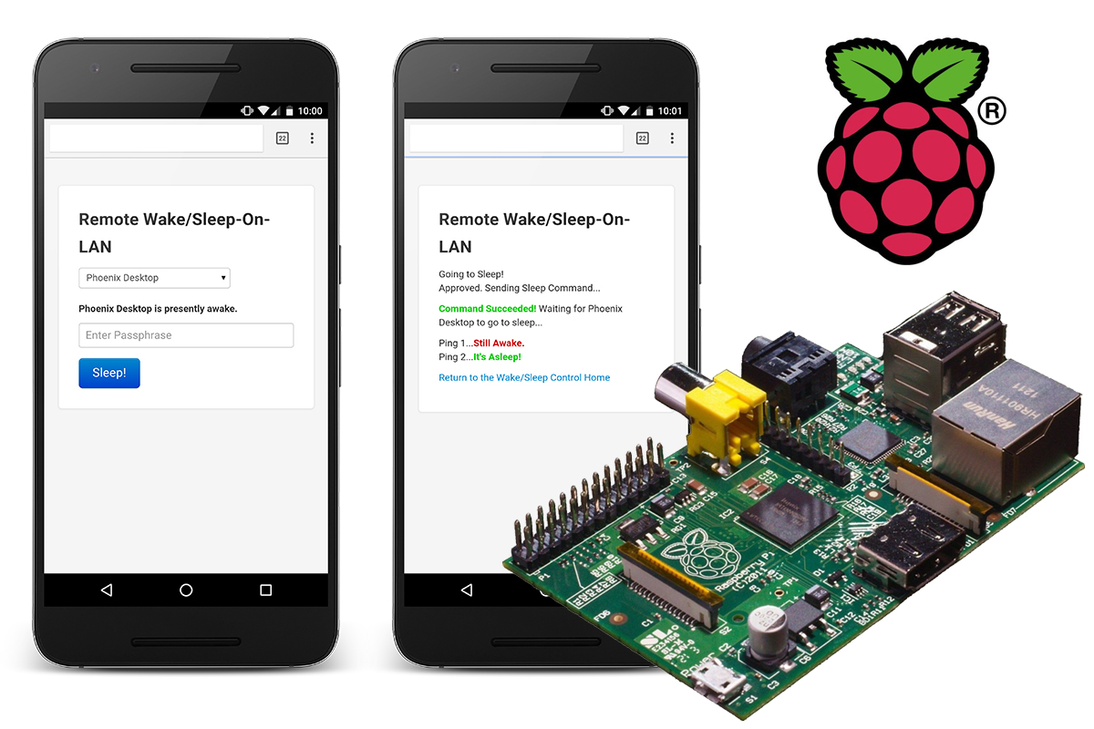Raspberry Pi Remote Wake/Sleep-On-LAN Server | JeremyBlum com