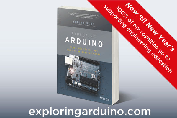 Buy Exploring Arduino - Support Education!