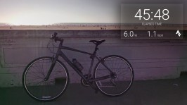 Biking to Ocean Beach with the Strava Biking App