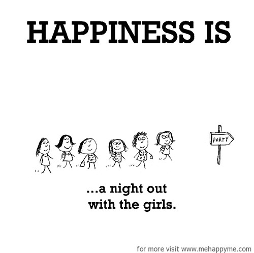 Image result for happiness is a night out
