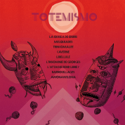 "Conception de la pochette de l'album ""Totemismo"" du groupe «Distingo»."