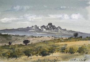 """Mt Kenya 10x7"""" £640"""
