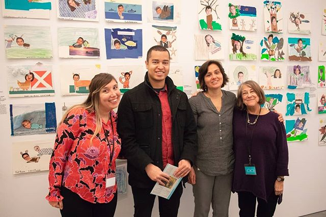 Thankful to the @parrishart education staff for working with me to formulate a student workshop. Still time to check out the work until end of March!