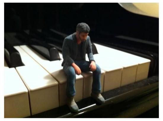 Keanu Action Figure Sad