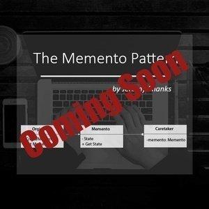 The Memento Pattern
