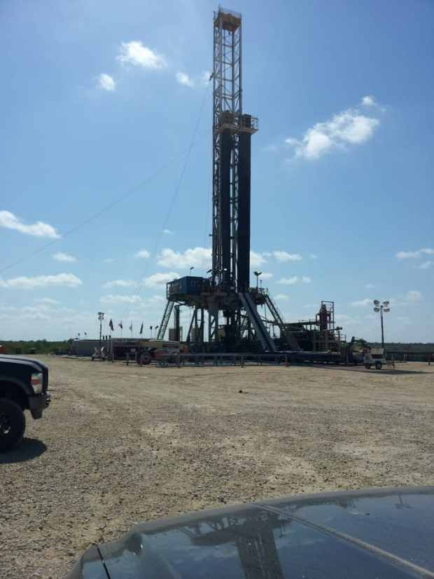 Drilling Rig South Texas