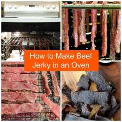 How to Make Beef Jerky in an Oven