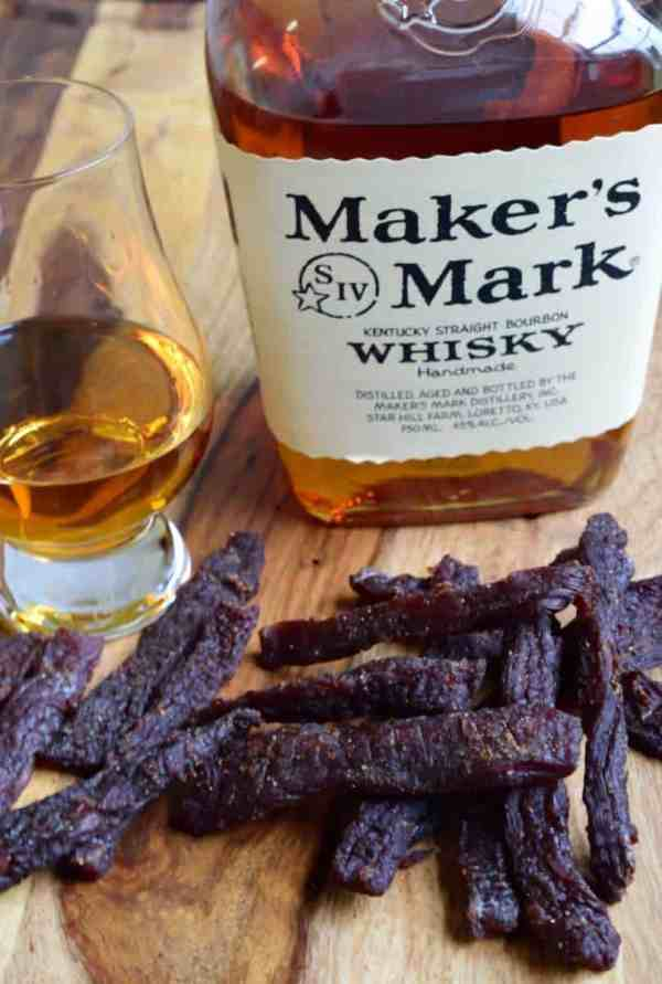 Looking for a rough and tough beef jerky made for a REAL man? You just found it. Bourbon + Jerky = Manly | Jerkyholic.com