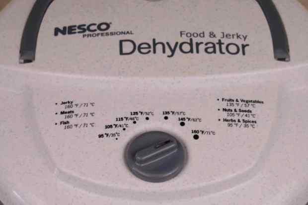 Nesco Dehydrator Controls