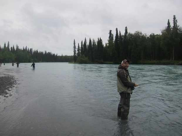Me Fishing for Sockeye