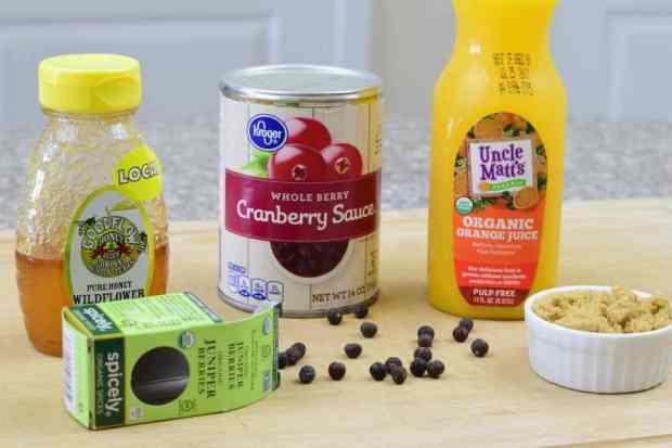 Cranberry Turkey Jerky Ingredients