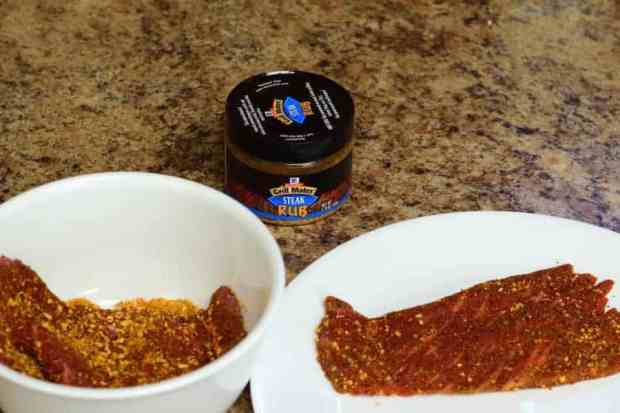 Steak Dry Rub Seasoned