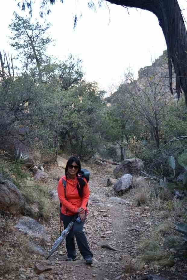 Linda Hiking