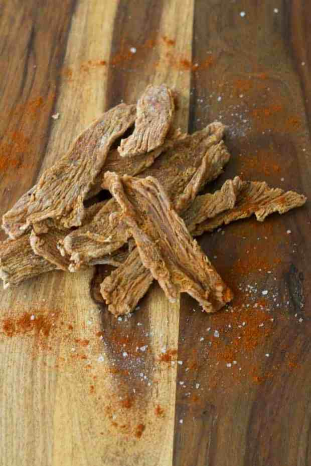A smokey and spicy turkey jerky that will have you craving for more. You have to make this jerky   Jerkyholic
