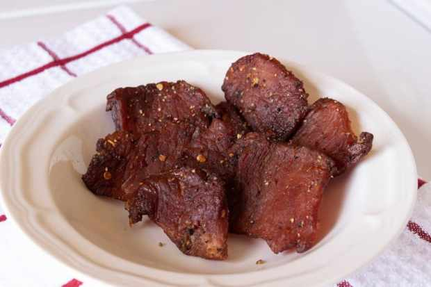 how to make pork jerky in the oven