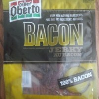 Review:  Oberto Applewood Smoked Bacon Jerky (B+)