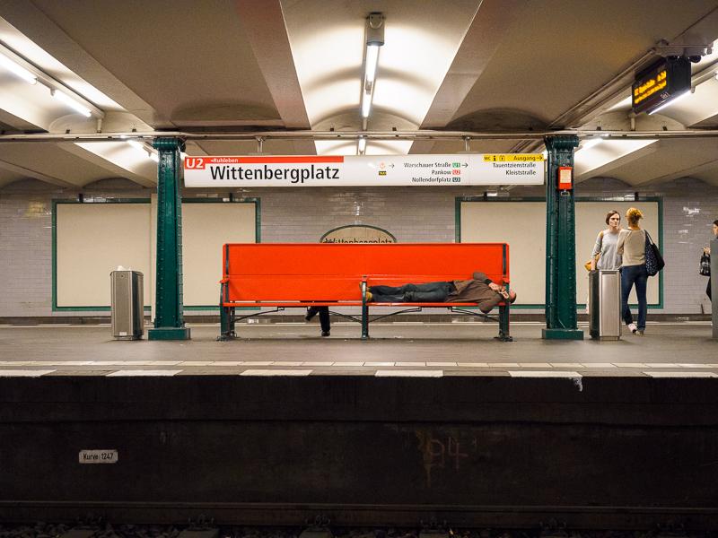 Berlin, 2016 | Wittenbergplatz subway