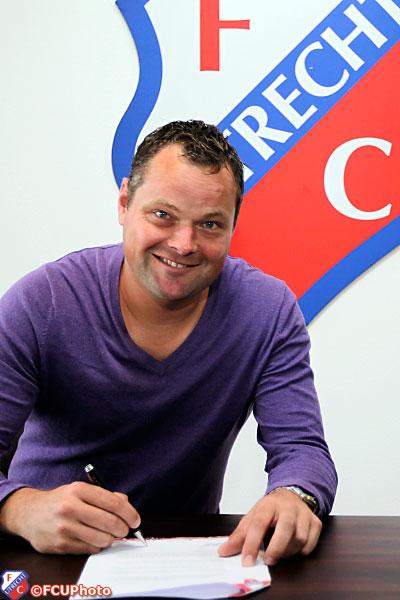 2012-09-28 Jeroen Verhoeven tekent bij FC Utrecht
