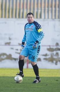 2013-01-08 Jeroen verhoeven aanvoerder FC Utrecht tegen 1 fc union berlin