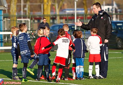 Kids genieten van clinic FC Utrecht voor oneMen